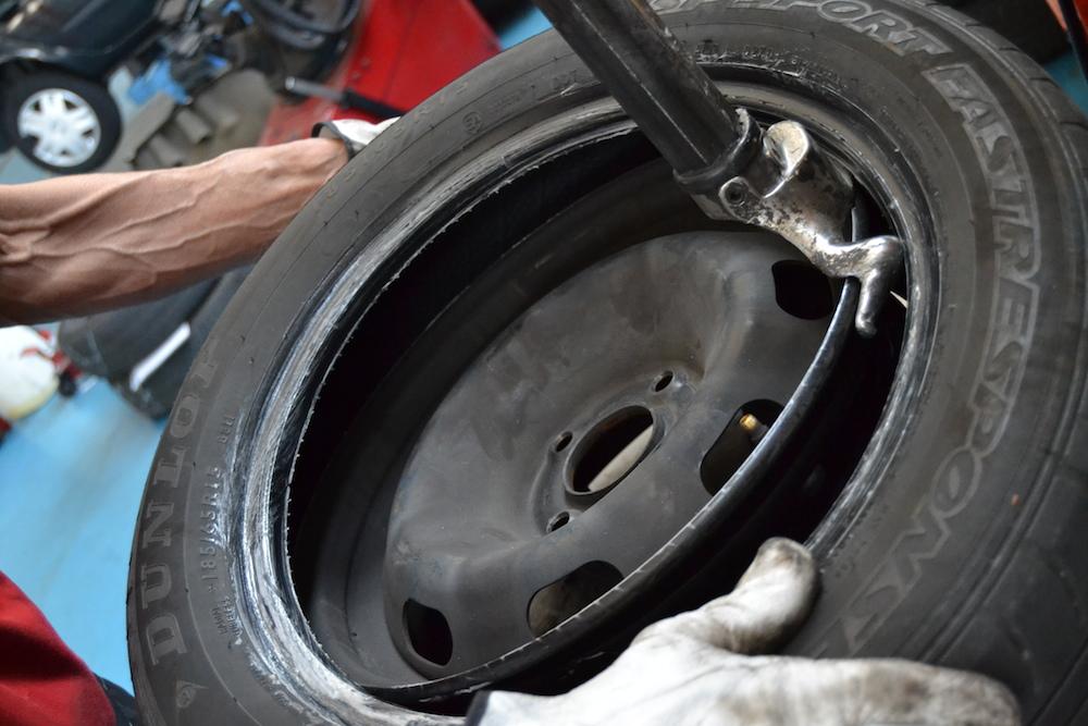 Autofficina Inzago Tecnocar Montaggio pneumatici