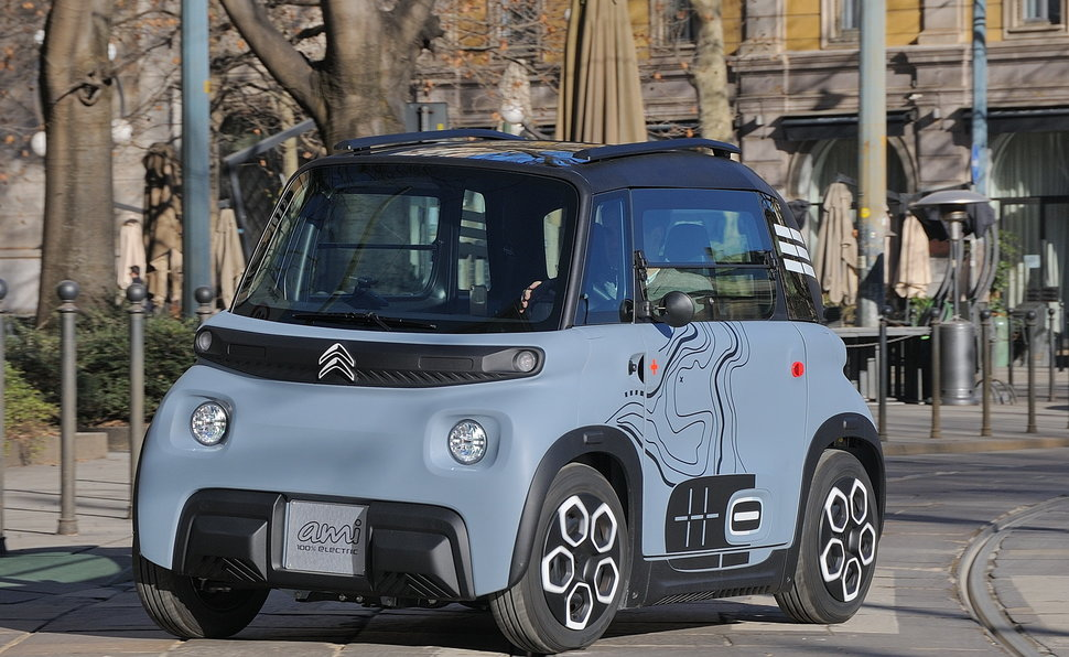 Citroën Ami: una buona idea per la città